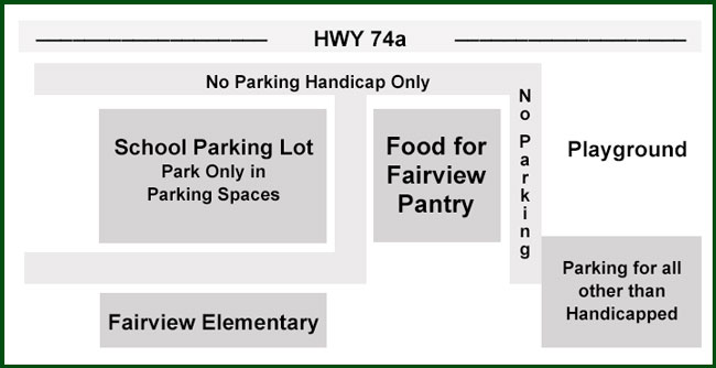 Food for Fairview Map