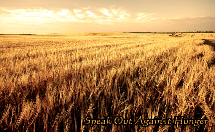 speak out against hunger