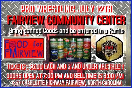 wrestling-food-drive