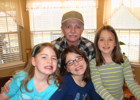 Anthony & his Grand Daughters